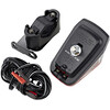 Trelock LS 631 Duo Top ajovalo , punainen/musta